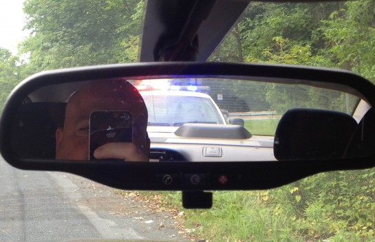 Oh Godu2026.. I Got Pulled Over This Morning. I Felt Both Helpless And  Humiliated. What Did I Do To Deserve These Bright Lights In My Mirror?